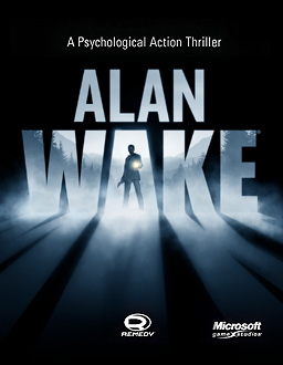 Xbox 360 Alan Wake Front Cover