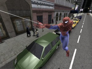 Spider-Man 2 Web Swinging
